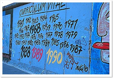 Graffiti at Berlin Wall